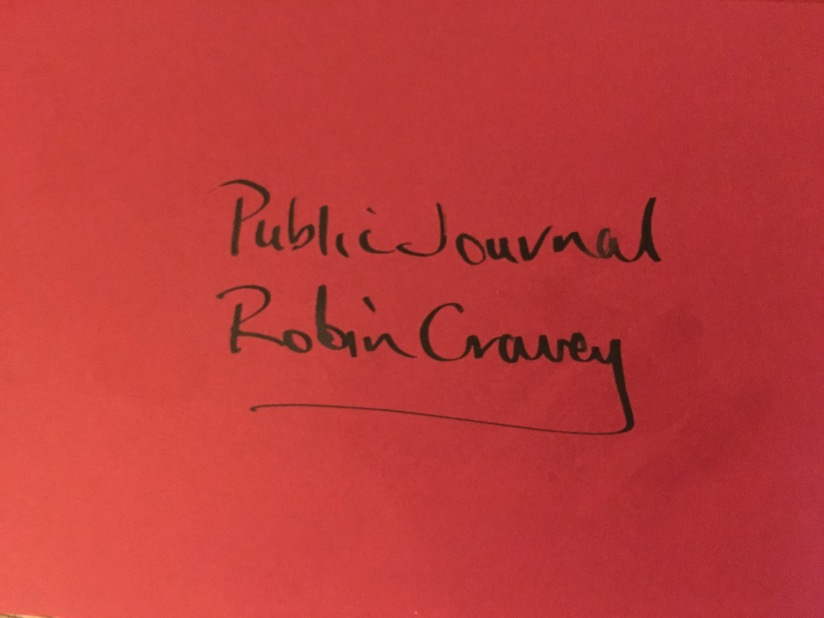 Launch of the publicjournal